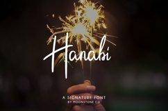 Hanabi Signature Font Product Image 1