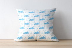 Clouds. Watercolor set. PNG, JPG Product Image 4