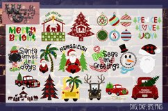 2018 Ultimate Christmas Bundle SVG, DXF, PNG, EPS Comm & Per Product Image 2