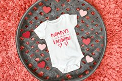 Mommy & Daddy's Little Valentine   Valentines Day SVG Bundle Product Image 2