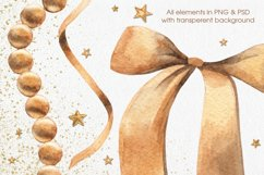 Golden Bows, Ribbons & Beads Product Image 4