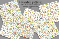 Camping clipart, patterns, designs Product Image 3
