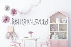 Something Pretty - A Cute Handlettered Font Product Image 3
