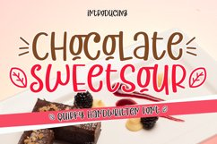 Chocolate Sweetsour Product Image 1
