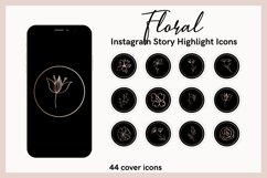 FLORAL Instagram Story Highlight Icons Product Image 1