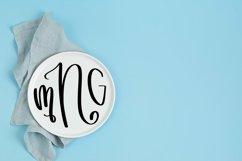 Web Font Three Letters - Monogram Font Product Image 3
