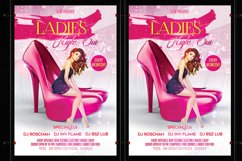 Ladies Night Party Flyer Product Image 4