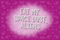 MOONSOUP - A Galactic Hand Lettered Font Trio Product Image 5