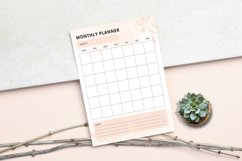 Daily - Weekly - Monthly Planner Sheet Product Image 4