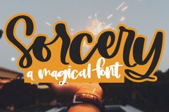 Sorcery - A Magical Handwritten Script Font Product Image 1