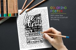 Quote Coloring Page Product Image 1