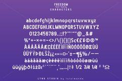 FREEDOM font family Product Image 6