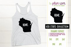 Wisconsin Home - SVG design Product Image 1