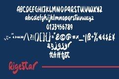 Web Font Rigestar - Handwritten Sans Font Product Image 4