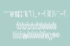 Rainy April a Hand Lettered Font with Doodles Product Image 4