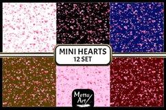 "12 Designs - 12"" x 12"" - Mini Hearts Product Image 2"