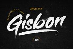 Gisbon - BRUSH TYPEFACE Product Image 1