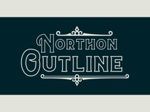 Northon Font and Ornament Product Image 5