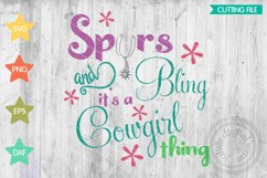 Cowgirl svg, Cowgirl svg, Spurs svg, Bling, Cowgirl thing Product Image 1