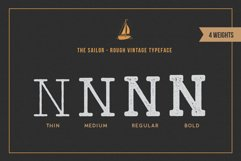 LightHouse - Vintage Sailor Rough Typeface Product Image 5
