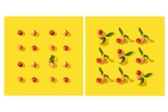 Little red apples pattern or postcard Product Image 1