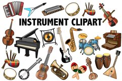 Musical Instrument Clipart Product Image 1