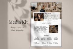 Influencer Media Kit Template, 3 Pages, Canva Product Image 3
