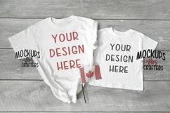Adult, Youth, Child tshirts - mock-up - Canadian theme Product Image 1