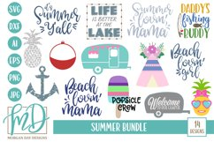 Beach SVG - Lake SVG - Camping SVG - Summer Bundle SVG Product Image 1
