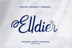 Elldier - Modern Script Font Product Image 1
