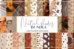 Color Shades BUNDLE digital paper pattern Product Image 3