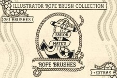Sailor Mate's Rope Brush Collection Product Image 1