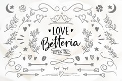 Love Betteria a Lovely Font Duo Product Image 5