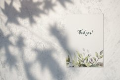 Watercolor Greenery Bouquets Clipart Product Image 4