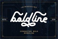 boldline - monoline bold typeface Product Image 1