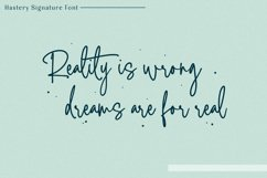 Hastery - Signature Font Product Image 6