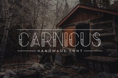 Carnicus - Font Type Product Image 1