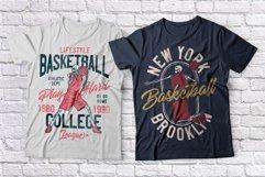 Basketball skeleton 10 t-shirts set Product Image 3