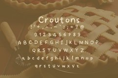 Croutons font Product Image 4