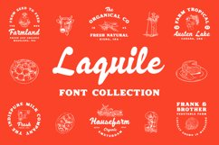 Laquile - Display Font Product Image 1