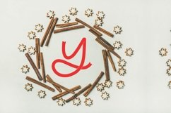 Brave - A Ribbon Monogram Font Product Image 5