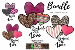 Baked with Love Valentine Kitchen Dye Sublimation Product Image 1