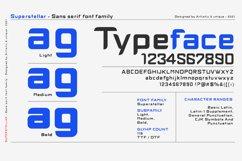 Superstellar - Sans serif font family Product Image 2