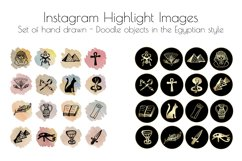 Hand drawn Watercolor Instagram Highlight icons travel cover Product Image 6