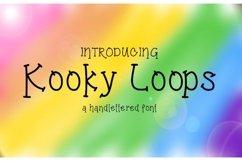 Kooky Loops Handlettered Font Product Image 1