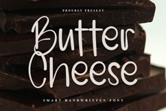 Butter Cheese - Smart Handwritten Font Product Image 1