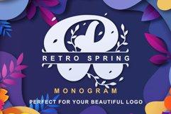 Retro Spring - Monogram Product Image 1