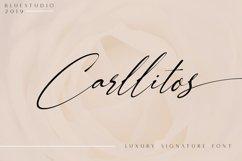 Carllitos // Luxury Signature Font Product Image 1