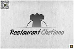 Restaurant Chefinno Logo Grey