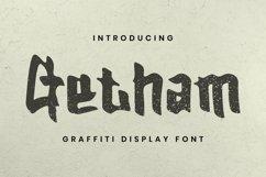 Web Font Getham Font Product Image 1